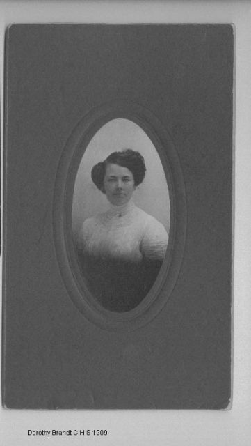 Dorothy Brandt CHS 1909