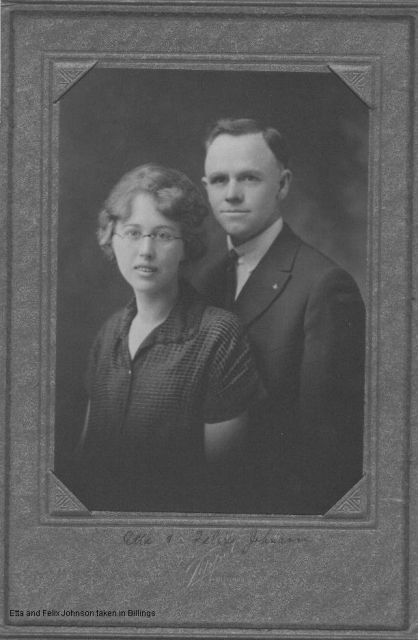 Etta and Felix Johnson