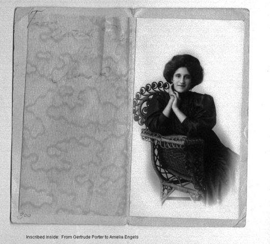 Gertrude Porter To Amerlia Engels