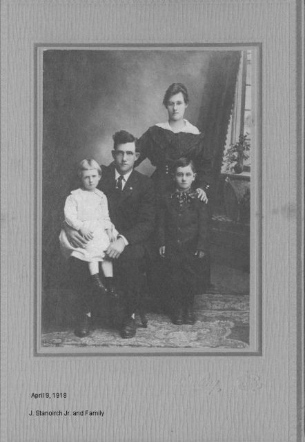 J Stanoirch Jr. and Family