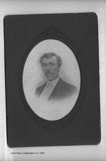 John Shea 09/14/1909
