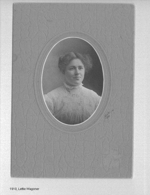 Lettie Wagoner 1910