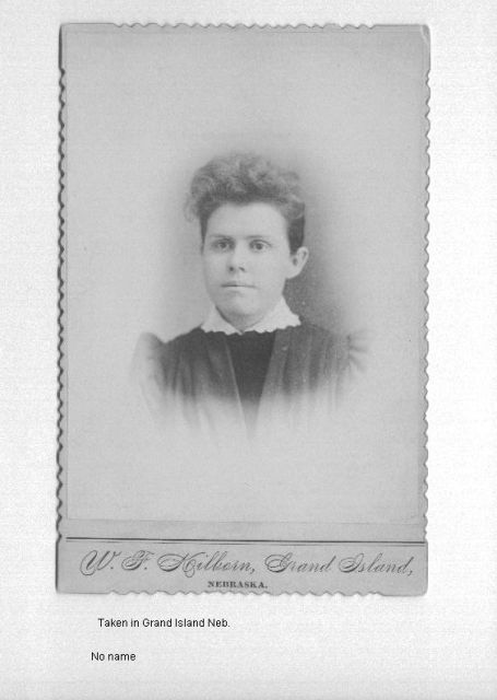 Unknown Woman Taken in Grand Island, Neb.