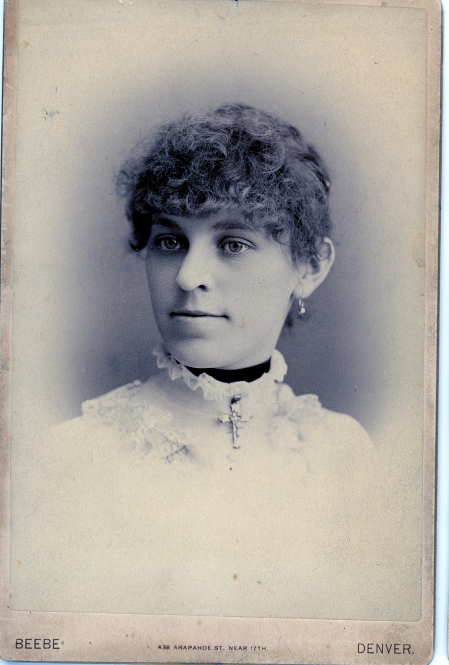 Mrs Fannie Peery Denison, Texas 1886